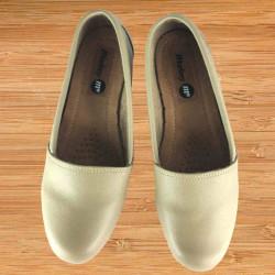 Zapato Casual Plato Liso Beige